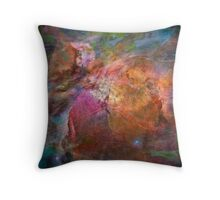 Cosmic Mushrooms 1 Throw Pillow