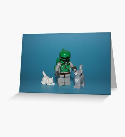 Fett's Pets Greeting Card