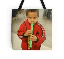 Little Flute Player Tote Bag