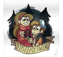 Gravity Falls - Mystery Twins Poster