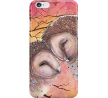 Owl Cuddle iPhone Case/Skin