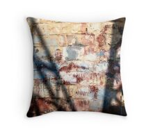 Shadow on the wall Throw Pillow