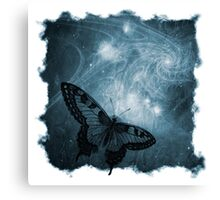 The Atlas of Dreams - Plate 4 (blue) Canvas Print