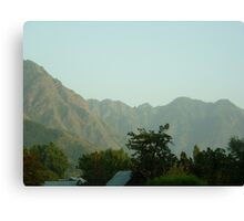 Mughal skies in Kashmir Canvas Print