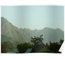 Mughal skies in Kashmir Poster