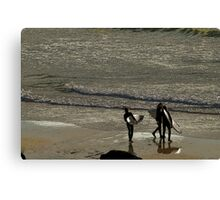It starts with a paddle Canvas Print
