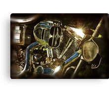 The Motor The Heart Canvas Print