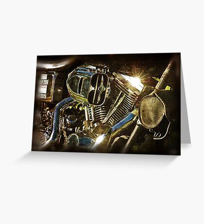 The Motor The Heart Greeting Card
