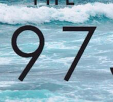 THE 1975 - SEA Sticker