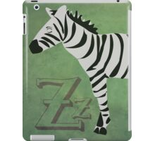 Sleepy Zzzebra iPad Case/Skin