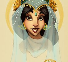 Tribal Princess Jasmine by jesschrysler