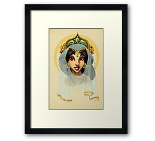 Tribal Princess Jasmine Framed Print