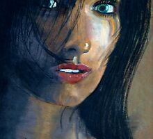 Le regard d'une femme by robheath