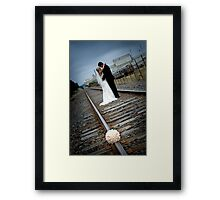 A new track... Framed Print