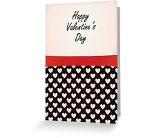 Modern Valentine's Day Card Greeting Card