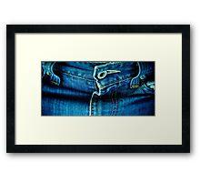 My Favorite Jeans Framed Print