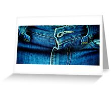 My Favorite Jeans Greeting Card