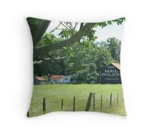 Old Mail Pouch Barn Throw Pillow