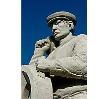 Spirit of Portland, the Stone mason Photographic Print