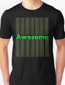 Awesome Binary Unisex T-Shirt
