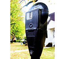 Parking Meters Photographic Print