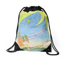 lush equatorial Drawstring Bag