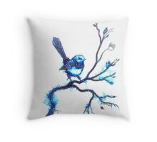 Simply Blue - Wren Throw Pillow