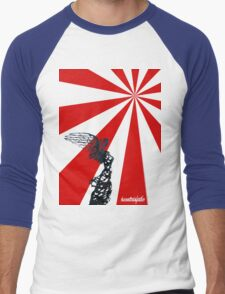 Niké - start of the cane train feather Men's Baseball ¾ T-Shirt