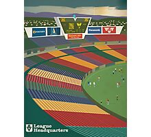 VFL Park - League HQ Hell Kelpie version Photographic Print
