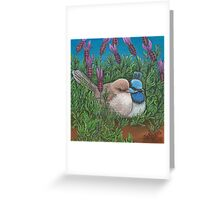 """Love in the Lavender"" Greeting Card"