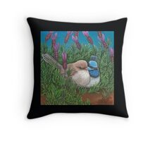 """Love in the Lavender"" Throw Pillow"