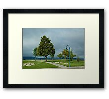 Calm Before The Storm Framed Print