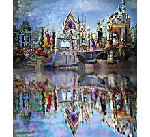 The Happiest Place on Earth Photographic Print