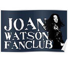 Joan Watson Fanclub Poster