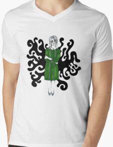 Bleh Mens V-Neck T-Shirt