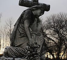 Resting By The Cross by DreamCatcher/ Kyrah Barbette L Hale