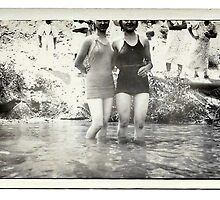 1940s Bathing Suit Babes by windysoul