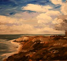 Martha's Vineyard No. 2 Acrylic 30 x 24 by csoccio100