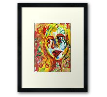 Paint Girl Framed Print