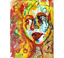 Paint Girl Photographic Print