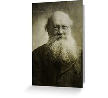Peter Kropotkin Greeting Card