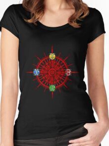 XBOX Gamer's Compass - Adventurer Women's Fitted Scoop T-Shirt