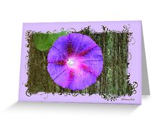 Entering the Forest of Enchantment Greeting Card