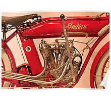 Motorcycle - Indian Motorcycle engine Poster
