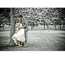 Jess & Sam's Wedding Day Photographic Print