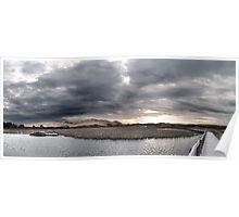 Prince Edward Island panoramic landscape, Canada Poster