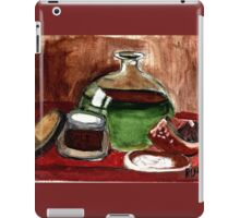 Still Life (Olive Oil,Spice & Melon) iPad Case/Skin
