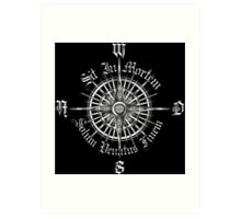 """PC Gamer's Compass - """"Death is Only the End of the Game"""" Art Print"""