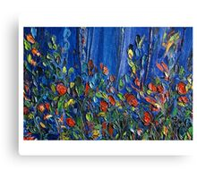 THE PINE FOREST,  Tree of Life Series 2003 Janai-Ami Canvas Print