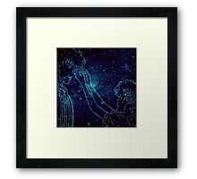 sailor moon moon princess constellation  Framed Print